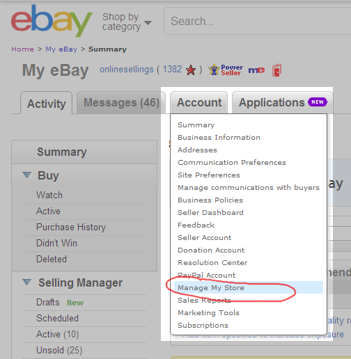Changing Back to Your Original eBay Store Design | eBay Store